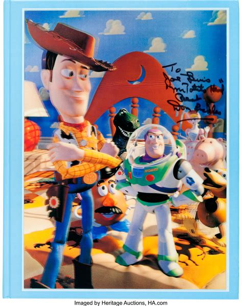 art  making  toy story signed limited