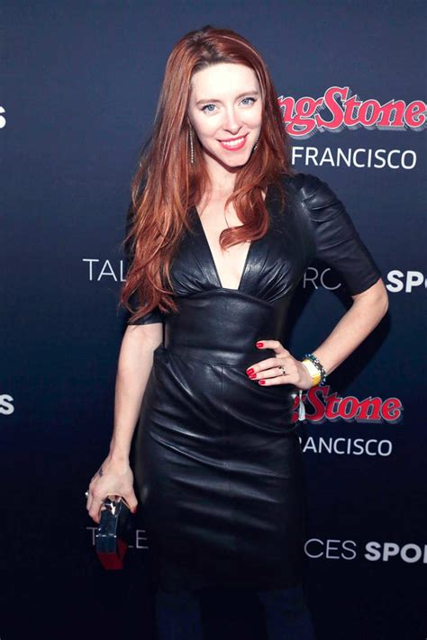 actress kate gorney kate gorney attends the new era style lounge leather