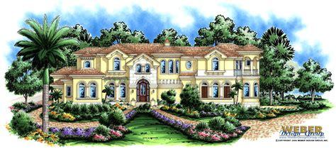 Mediterranean House Plan Luxury 2 Story Home Floor Plan