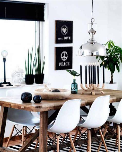 chaise norvegienne la salle à manger scandinave en 67 photos archzine fr