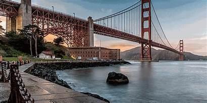 Gate Bridge Golden Francisco San Bay Smoke