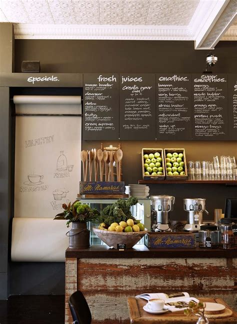You can get all these by choosing the right theme for your coffee shop. white and wood commercial bar interior design - Google Search   Cafe decor, Cafe bistro