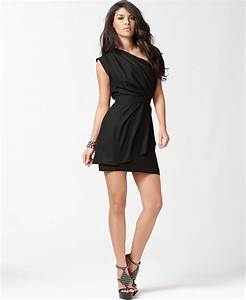 BCBGeneration Dress, One Shoulder Layered from Macys | It ...