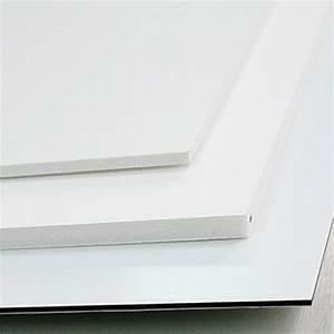 Panneau Pvc Blanc : panneau pvc expans forex print blanc paisseur 3 mm ~ Dallasstarsshop.com Idées de Décoration