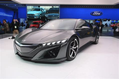 best honda acura honda nsx concept 2014 v6 sports hybrid