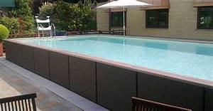 Piscines Semi Enterrées : piscine semi enterr e en m tal ~ Zukunftsfamilie.com Idées de Décoration