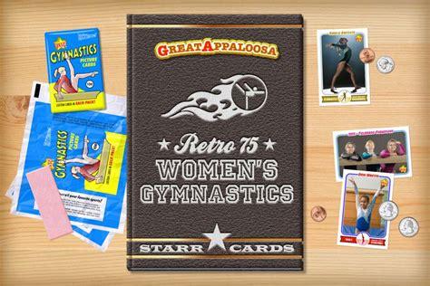 Check spelling or type a new query. Custom Gymnastics Cards - Retro 75™ Series Starr Cards