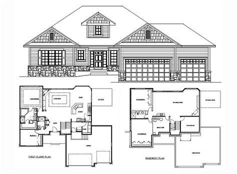 rambler floor plans   sq ft amanda  tjb homes