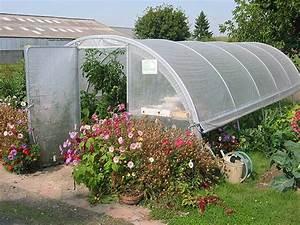 Serre Tunnel De Jardin : les diff rentes serres de jardin tpsb ~ Melissatoandfro.com Idées de Décoration