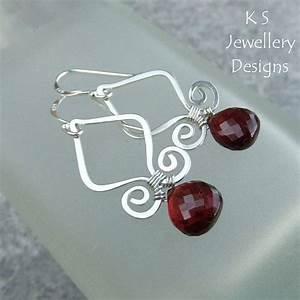 Wire Jewelry Tutorial - Genie Drops  Earrings