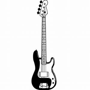 Electric Bass Guitar Clip Art (39+)