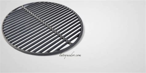 grille en fonte large pour barbecue big green egg barbecue big green egg la toque d or