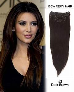 """14"""" 7pcs #6/613 Brown/Blonde Straight 100% Remy Hair Clip ..."""