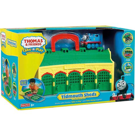 the tidmouth sheds playset friends take n play tidmouth sheds playset 163 33