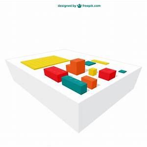 Colorful lego blocks Vector | Free Download