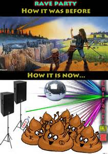 Rave Party Funny Memes