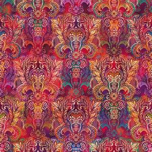 3391 001 arabesque silk scarf pomegranate digiprint
