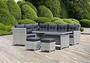 lounge set garten outdoor dusche rattan plush design With garten planen mit rattan set balkon