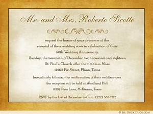 50th wedding gift etiquette imbusy for With wedding invitation etiquette no gifts please