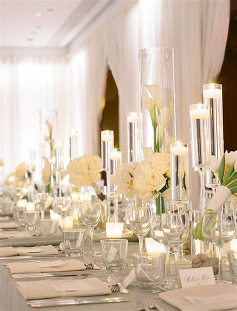 white table decorations for weddings table wedding decorations archives weddings romantique 1357