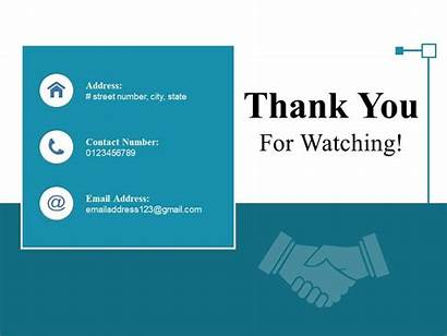 Thank Watching Slide Ppt Master Styles Powerpoint