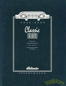 Hollander Interchange Parts Manual Book 1946