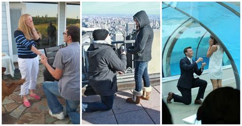 Top 25 Best Wedding Proposals Of All Time