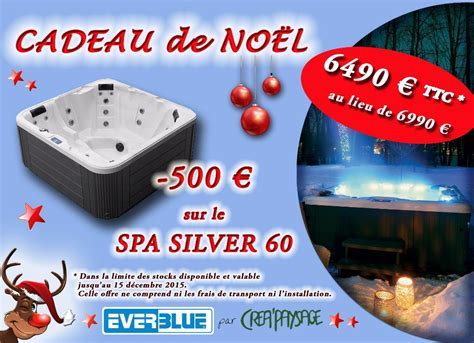 siege social spa promo spa silver 60 pour noël créapaysage