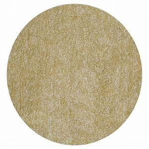 Home Decorators Collection Cozy Shag Yellow Heather 6 ft