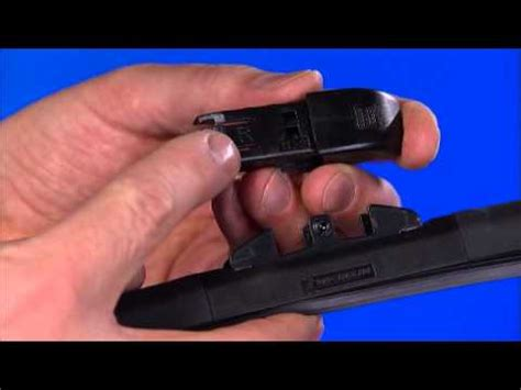 uk michelin stealth wiper blades tl 2 arm installation instructions youtube