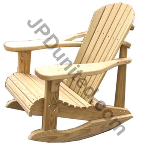 adirondack rocking chair woodworking plans jpd united inc furniture