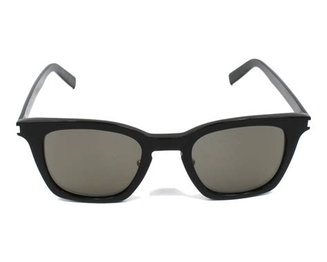 Yves Saint Laurent Sunglasses Sl-138-slim 001 Black