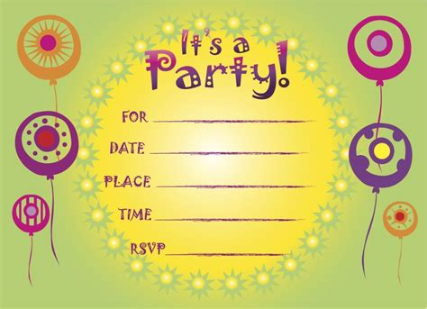 examples  afrikaans birthday invitations