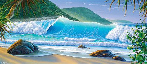queensland artist scott christensen   master  interpreting seascapes queensland homes