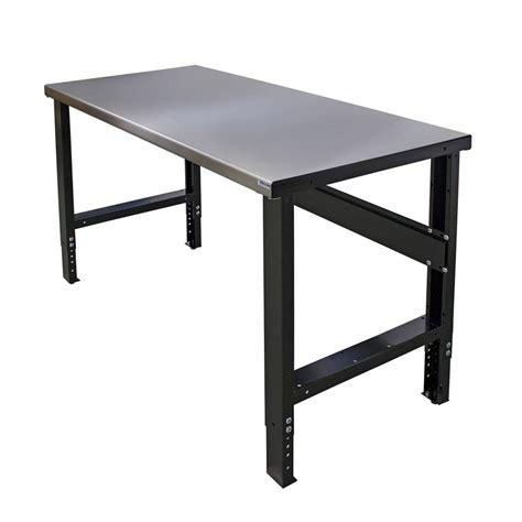 borroughs      adjustable height work bench