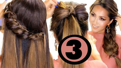cute summer hairstyles  easier   easy