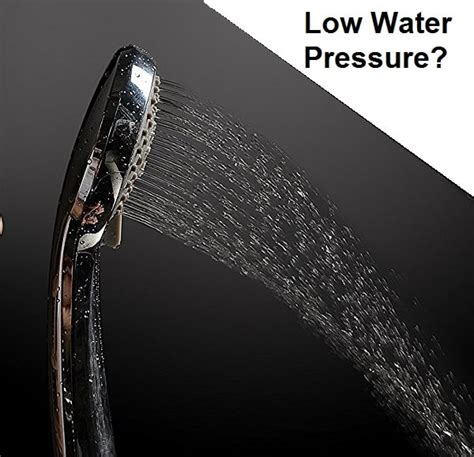 Shower Heads For Low Pressure by Low Pressure Shower Options And Suggestions For Issues