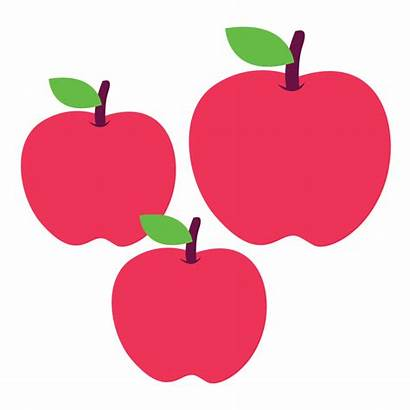 Apples Apple Clipart Clip Three Pond Tree
