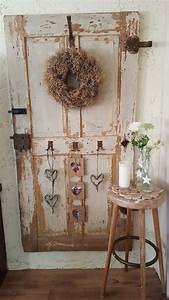 Alte Tür Deko : vintage alte holzt r dekoration deko diy alte holzt ren dekoration ~ Watch28wear.com Haus und Dekorationen