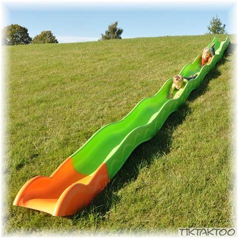 Hangrutsche Rutsche 8,60m Wellenrutsche Kinderrutsche