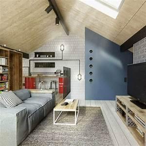 Wohnzimmer Einrichten Farben : dachgeschoss einrichten ein optimales und charmantes ~ Lizthompson.info Haus und Dekorationen