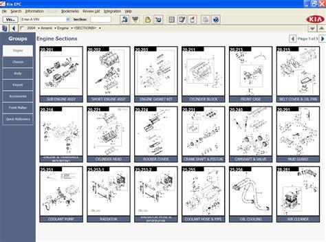 Kia Spare Parts by Kia Usa 2014 Parts Catalog