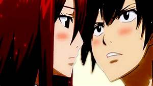 Gallery For > Gray X Erza Kiss