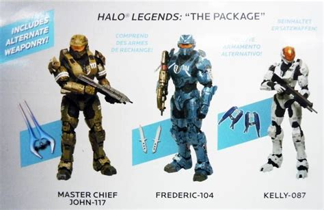 Halo Legends The Package Master Chief John 117