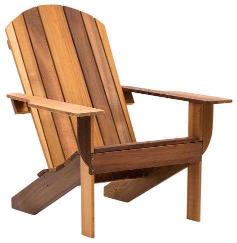 classic clear cedar adirondack chair rustic adirondack