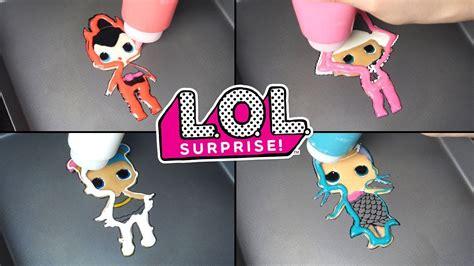 Lol Surprise! Dolls Pancake Art&unboxing