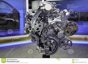 Ecotec3 4 3-liter V-6 Engine Editorial Photography
