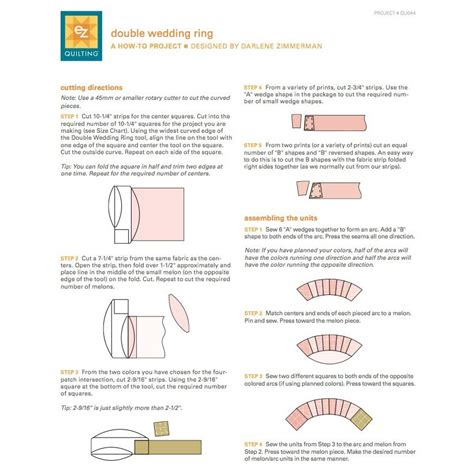 ez quilting wedding ring ruler by ez quilting