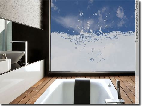 Fenster Sichtschutz Bad by Sichtschutz Splash Fensterfolie F 252 Rs Badezimmer