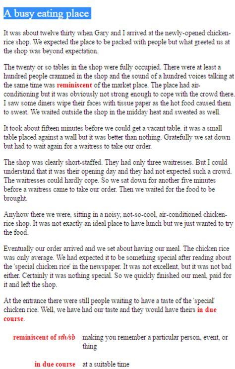 Describe A Special Place Essay